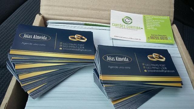 Promoção Cartão de Visitas - Criação da Arte+Impressão+Entrega Grátis - Foto 4