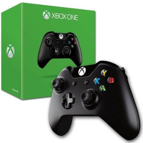 Controle joystick Xbox One preto - Foto 2