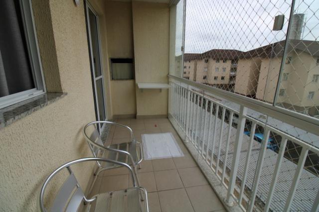 Capão Raso 3 dormitórios churrasqueira a carvão em condomínio Club - Foto 6