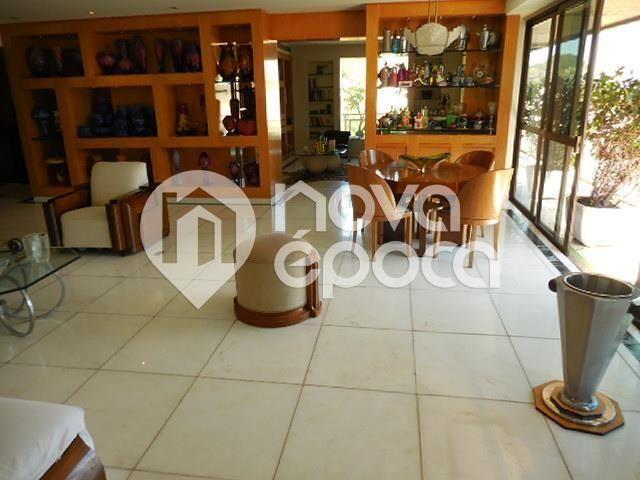 Apartamento à venda com 5 dormitórios em Lagoa, Rio de janeiro cod:LB5AP28814 - Foto 12
