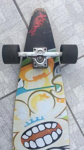 Long board Xseven c equipamentos de proteção - Foto 6