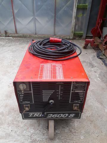 Máquina de solda bambozzi 430a trr 2600s