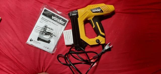 Grampeador/pinador elétrico GPE 916 220 V~ Vonder - Foto 3