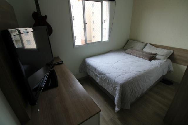 Capão Raso 3 dormitórios churrasqueira a carvão em condomínio Club - Foto 7