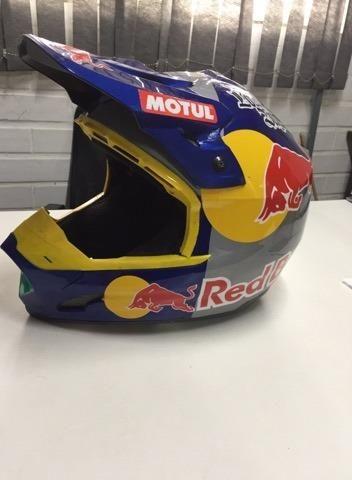 Capacete Red Bull - Foto 2