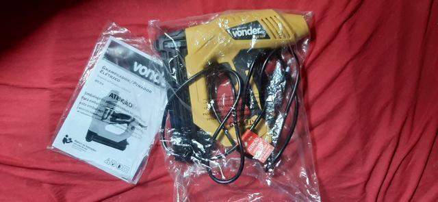Grampeador/pinador elétrico GPE 916 220 V~ Vonder - Foto 4