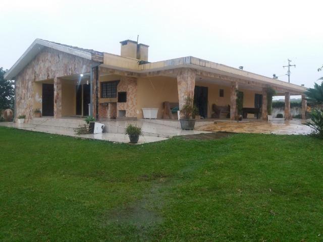 Chacara em Campo Magro casa 300mts Piscina est permuta Imoveis carros - Foto 5