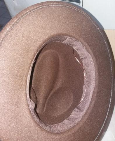 Chapéu tipo fedora novo