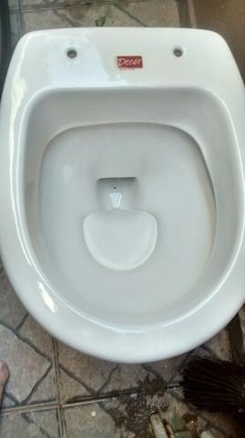Vaso sanitário usado