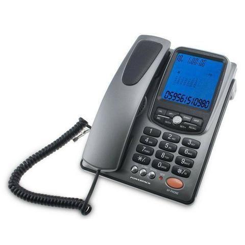 Telefone Powerpack 8034 Com fio Identificador chamadas Novo cxa Visor Whatsapp 99904-1414