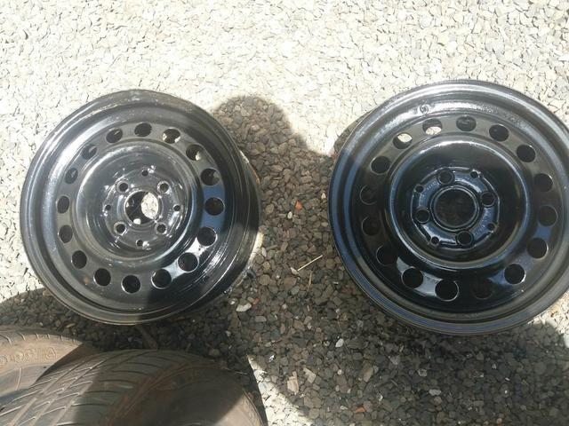 Roda de ferro 14 e pneu r14