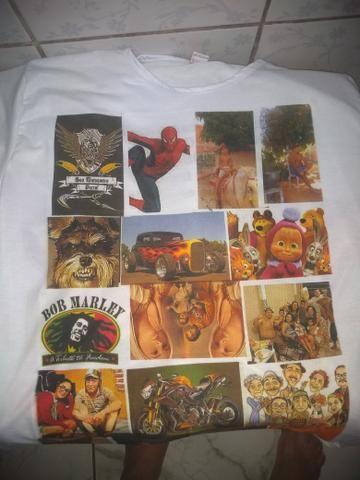 Camisas personalizadas a partir de $ 25,00 reais