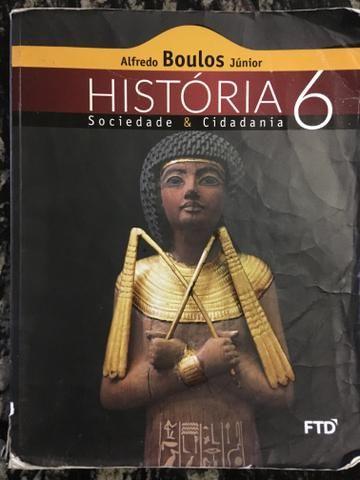Livro de história 6 ano