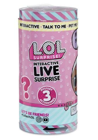 LOL Interativa Live Pet Surprise - 3 Surpresas