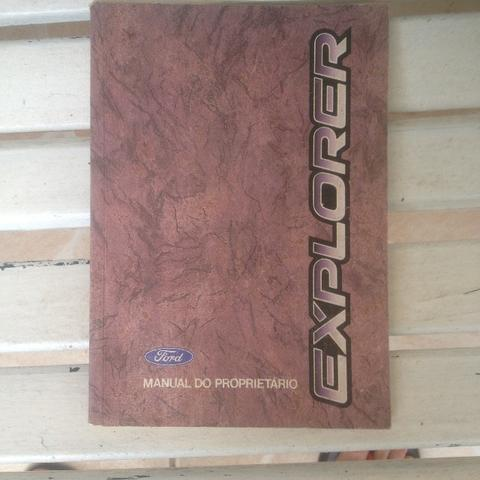 Manual do proprietário Ford Explorer