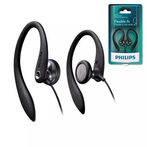 Fone De Ouvido Auricular Sport Philips Shs3300 Preto