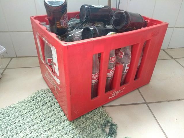 Engradado Coca cola