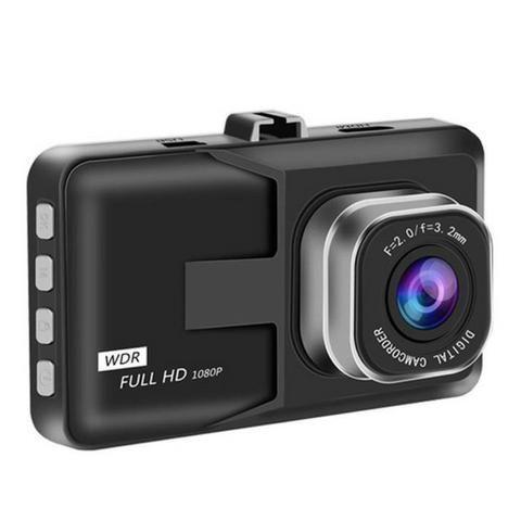 Câmera Veicular Tela de 3'' 1080p