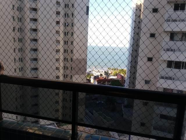 Apartamento em Ponta Negra em excelente localização - 56m² - Vista mar - Andar alto