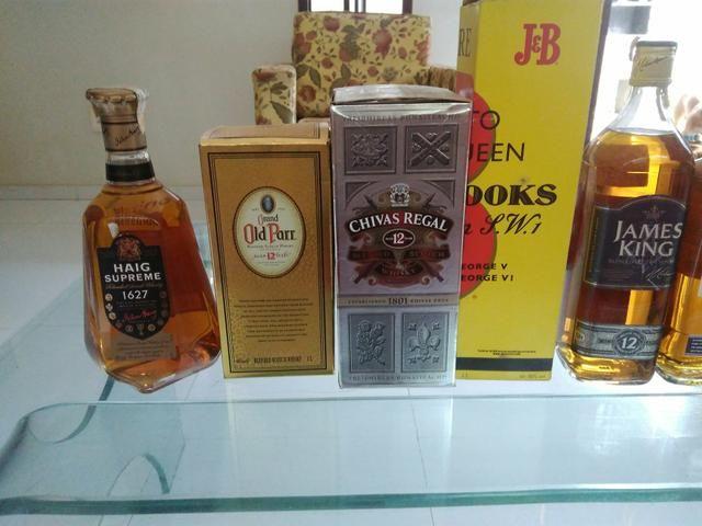 Whiskys 8 e 12 anos originais