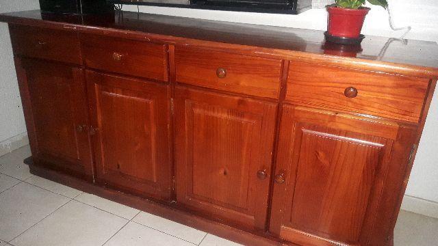 Balcão madeira maciça