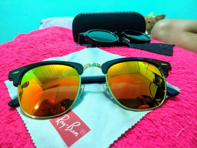 37ad8fcc6 Oculos de Sol Ray?Ban Clubmaster espelhado - Bijouterias, relógios e ...