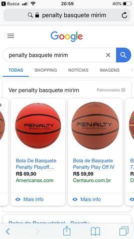 cbbd9554b Bolas de basquete novas e baratas - Esportes e ginástica - Campo ...