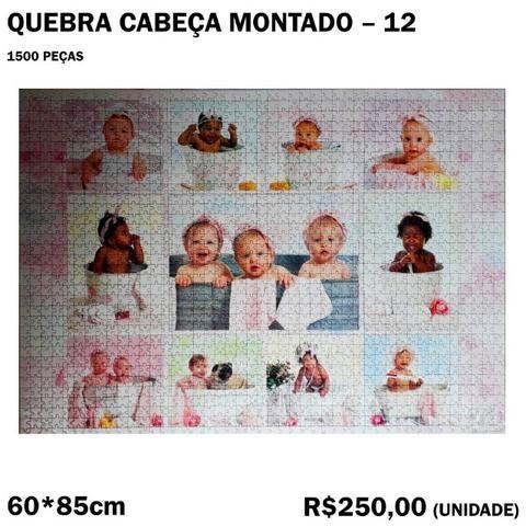Quebra-Cabeça Montado Bebês 1500 Peças