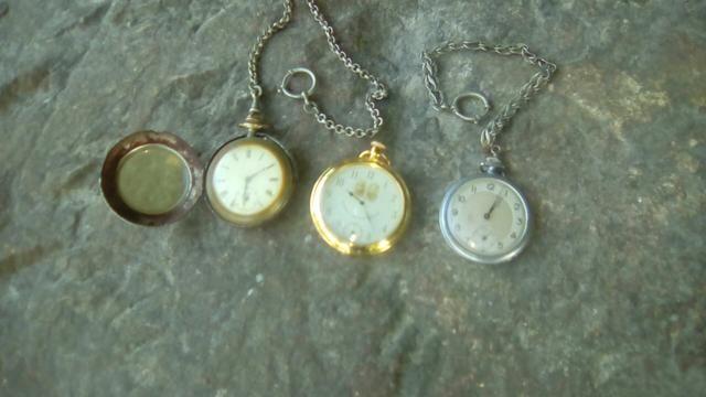 Relógios de bolso antigos - Foto 2