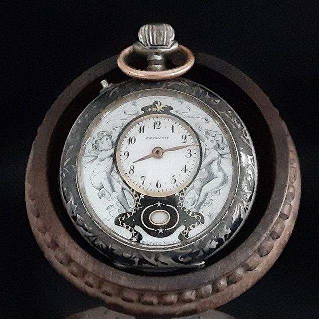 Relógio de Bolso Exclusif Brevet