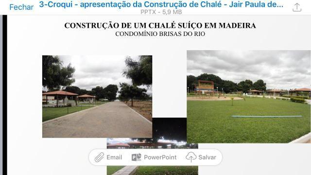 Chalé MOBILIADO na beira do Rio São Francisco - muito abaixo do mercado - Foto 4