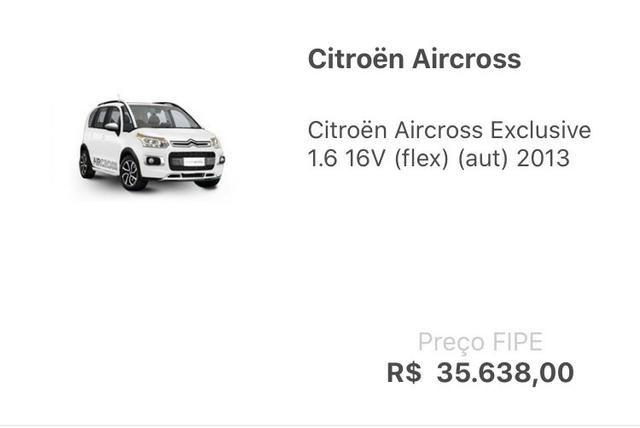 Aircross Exclusive 2013 - 10% abaixo da Tabela Fipe - Foto 5