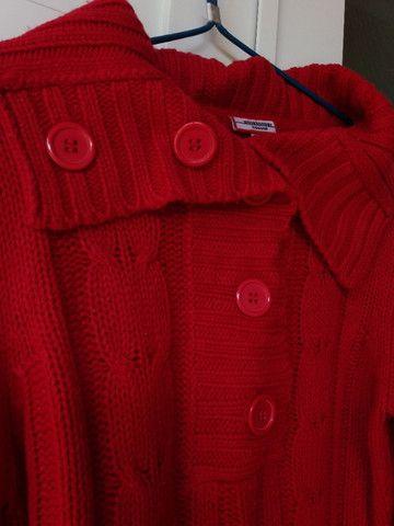 Blusa Vermelha Inverno - Foto 3
