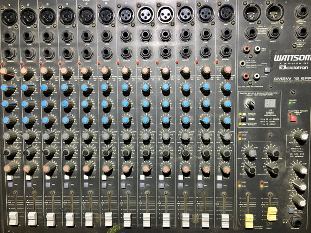 Mesa 12 canais efeitos mixer Watsom AM8W - Foto 5