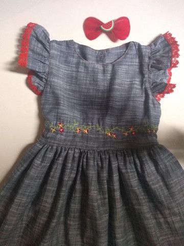 Vestidos infantis - Foto 2