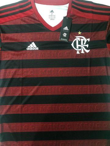 Camisa Flamengo Modelo 1 2019/2020 - Foto 3