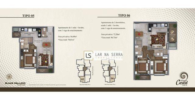 Apartamento com 2 dormitórios à venda, 105 m² por R$ 549.000,00 - Vila Suiça - Canela/RS - Foto 8
