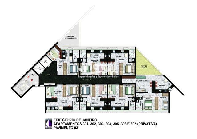 Apartamento à venda, 1 quarto, 1 suíte, 1 vaga, Centro - Belo Horizonte/MG - Foto 6