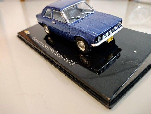 Miniatura Chevrolet Chevette Luxo 1973 1:43 - Foto 2