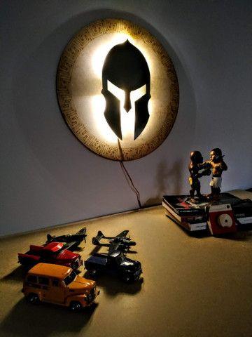 Luminária Guerreiro Espartano  - Foto 3