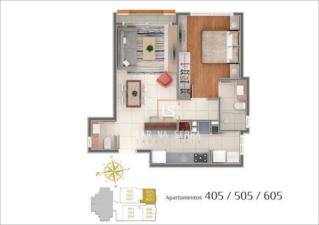 Apartamento à venda, 107 m² por R$ 728.260,47 - Lagos Do Bosque - Gramado/RS - Foto 19