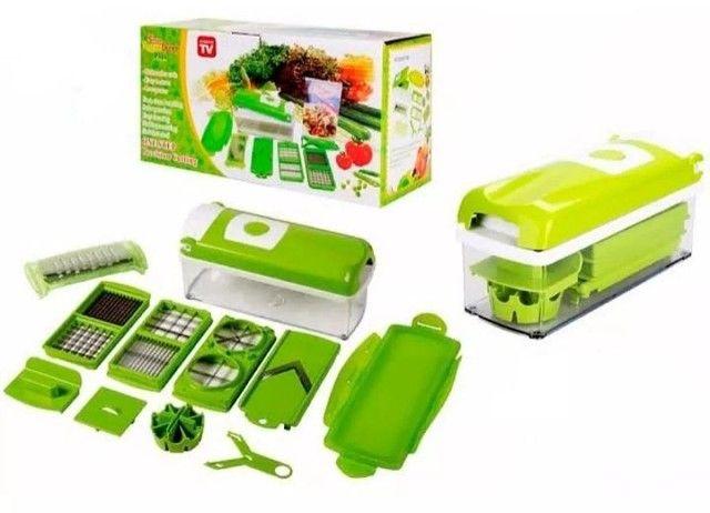 Kits cortador ralador fatiador ótimo pra fazer diversos tipos de salada só 65 REAIS