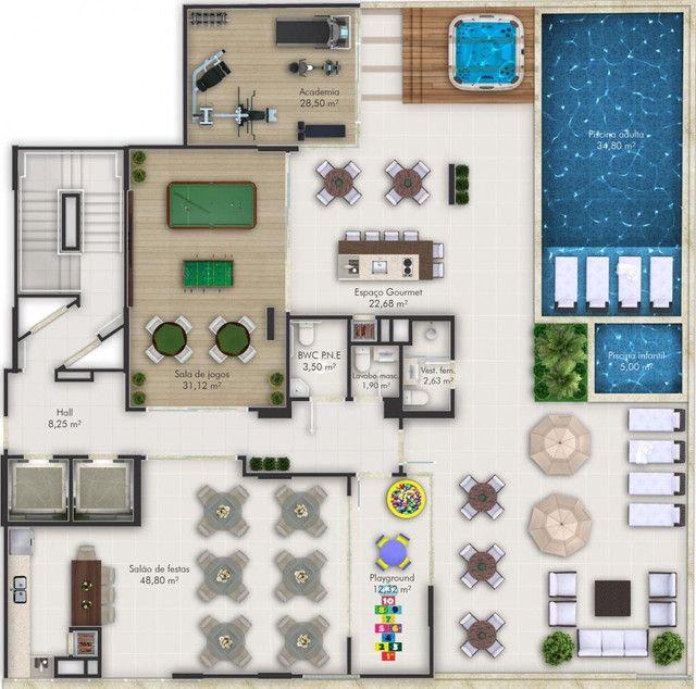 Apartamento com 2 quartos no Bairro Morretes em Itapema - SC.  - Foto 11