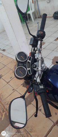 Vendo uma moto fazer 250 azul - Foto 3