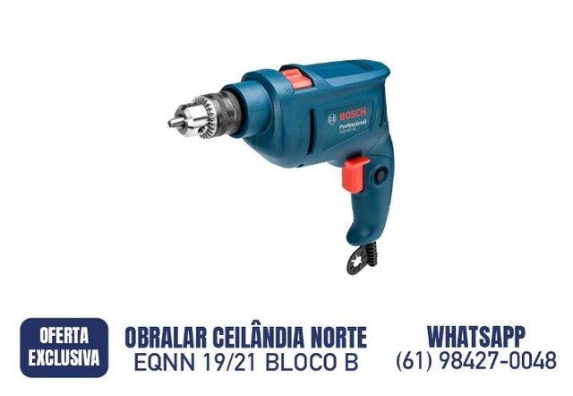 R$ 269,90 Furadeira Impacto 3/8 450w 220v Gsb 450re Bosch