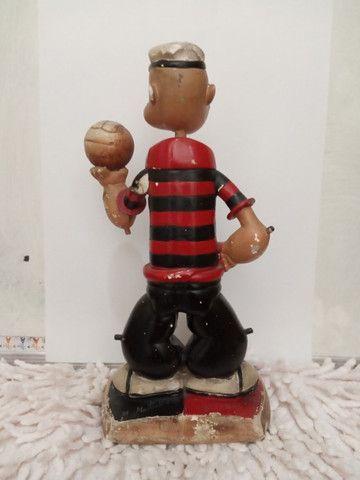 Flamengo - Mascote raríssima!!! anos 40/50 Estatueta antiga. - Foto 5