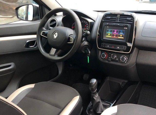 Renault Kwid 1.0 Intense Laranja Ano 2018 - Foto 8