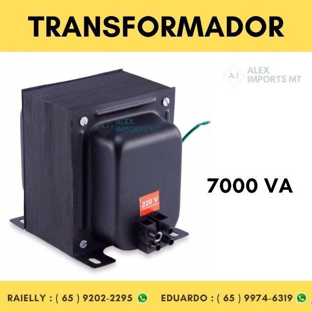 Transformador Voltagem 7000 Va 110-220 e 220-110