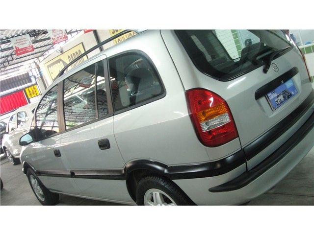 Chevrolet Zafira 2001 2.0 mpfi 8v gasolina 4p manual - Foto 11