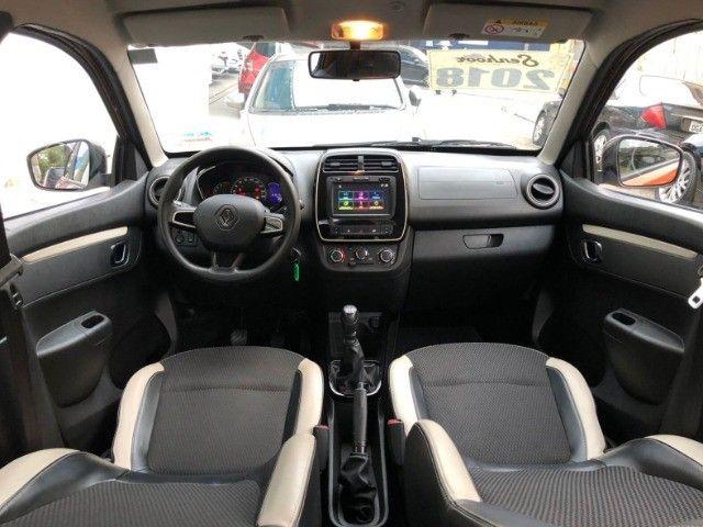 Renault Kwid 1.0 Intense Laranja Ano 2018 - Foto 7